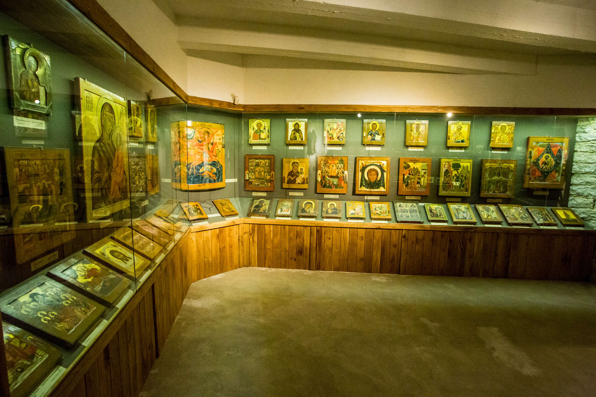 The Museum of Russian Icons in the Old Town of Tallinn, Estonia.