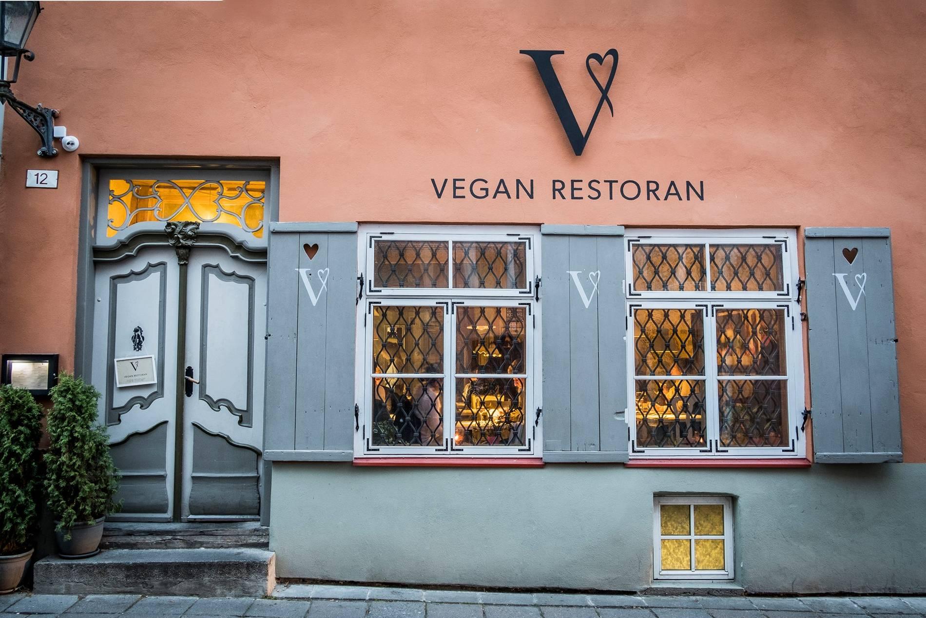 Vegan restoran V Tallinnas, Eestis