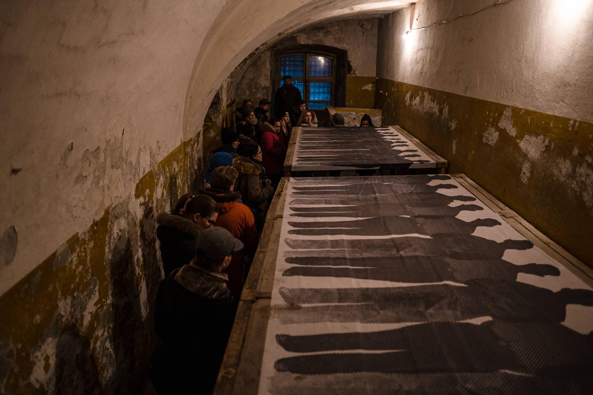 Patarein vankilan näyttelyalue Tallinnassa
