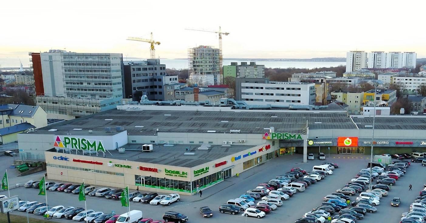Sikupilli Shopping Mall in Tallinn,Estonia