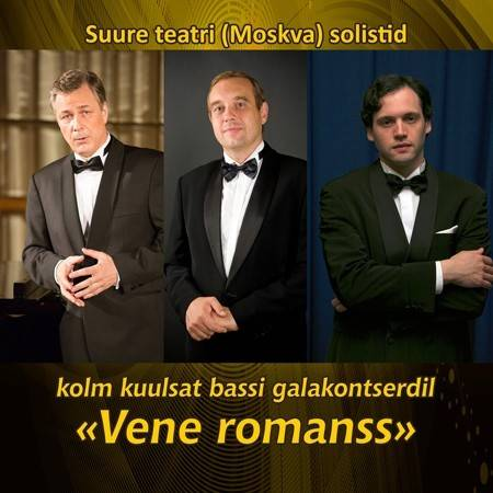 "Three famous basses ""A Russian Romance"""