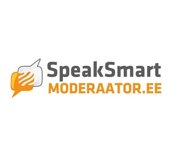 Logo of the SpeakSmart company.