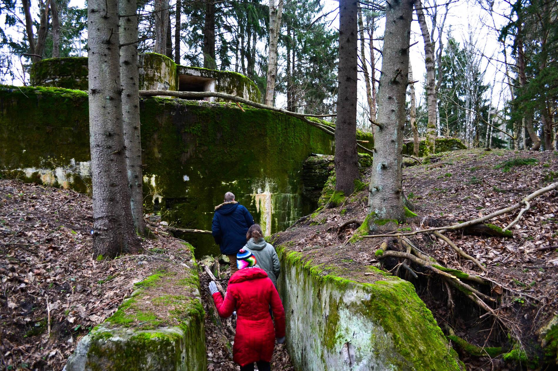 Catacombs in Paldiski, Estonia