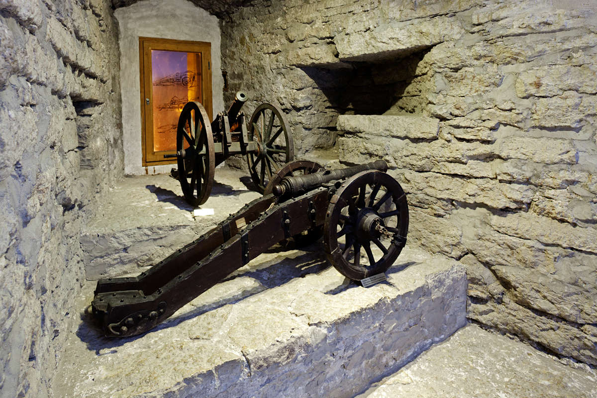 Kiek in de Kök Fortifications Museum in Tallinn, Estonia