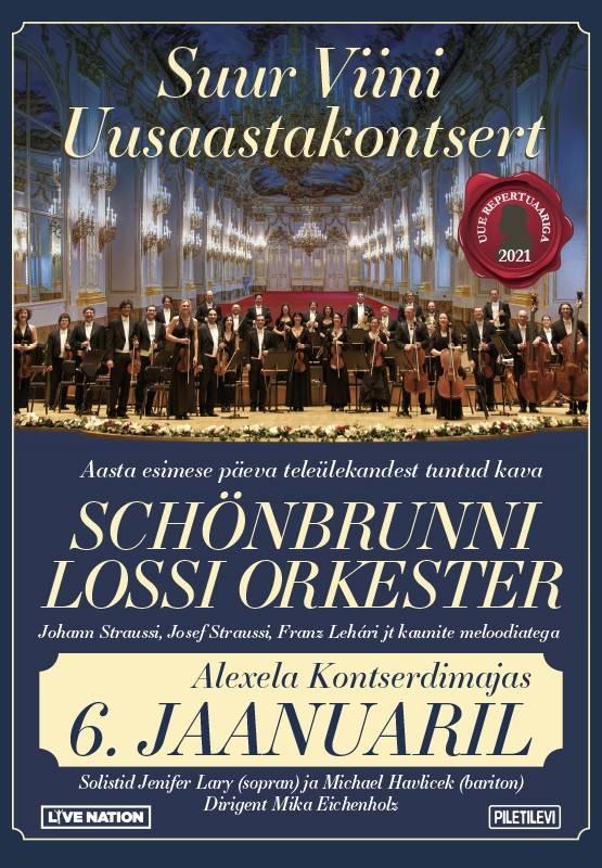 Schönbrunn Palace Orchestra. The New Years Concert