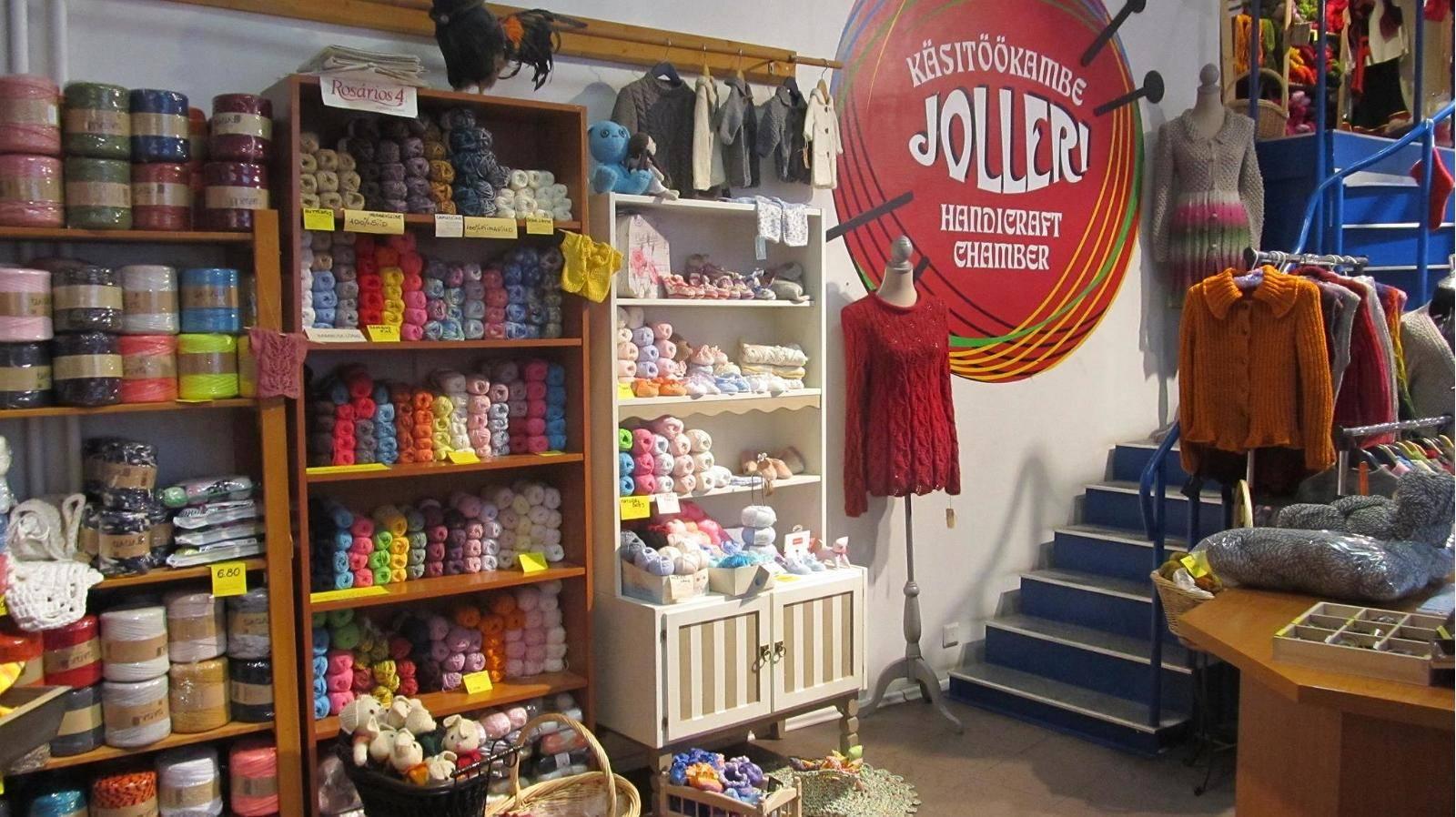 Jolleri Handicraft Chamber in Tallinn,Estonia