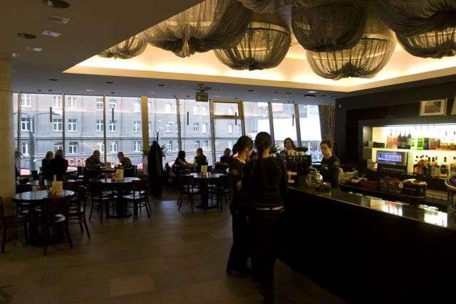 Interior of the St. Patrick´s Pub in Tallinn, Estonia