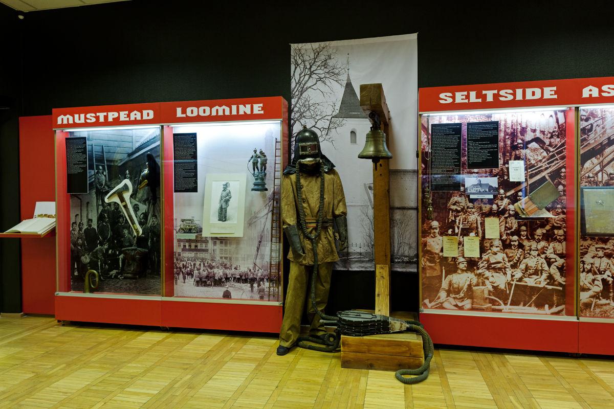 Viron palokuntamuseo Tallinnassa Virossa