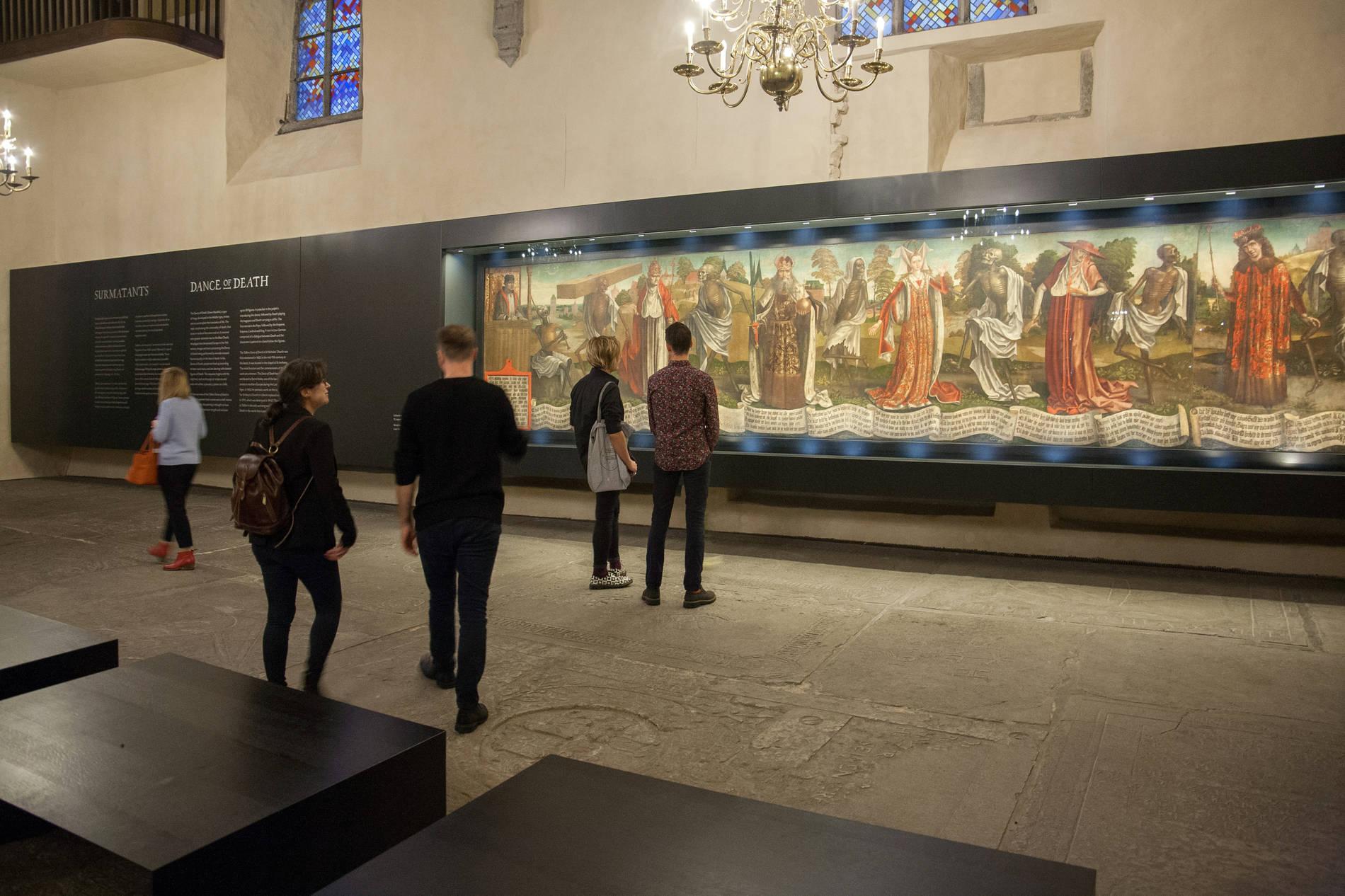 Niguliste Museum in Tallinn, Estonia