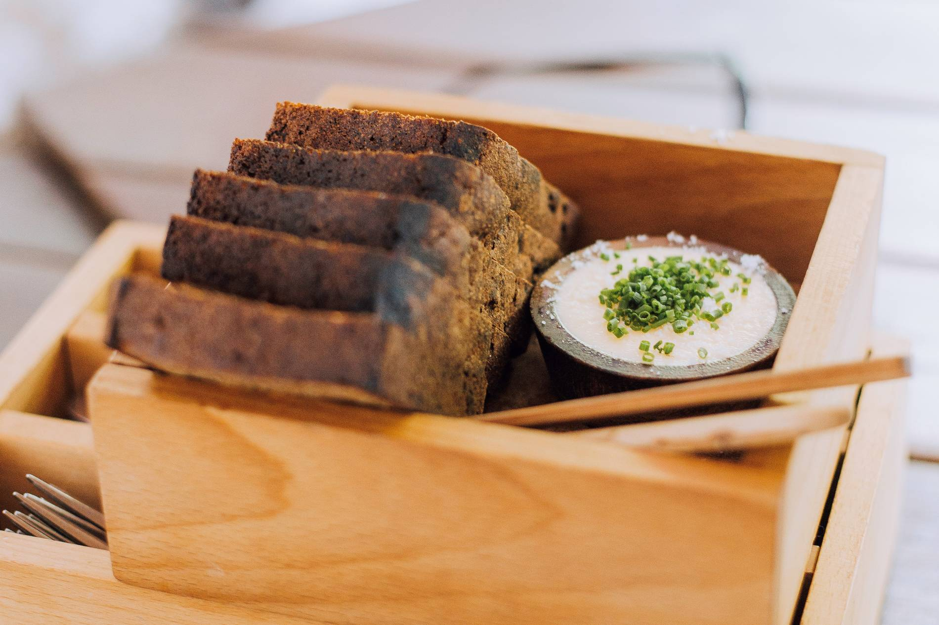 Estonian black bread