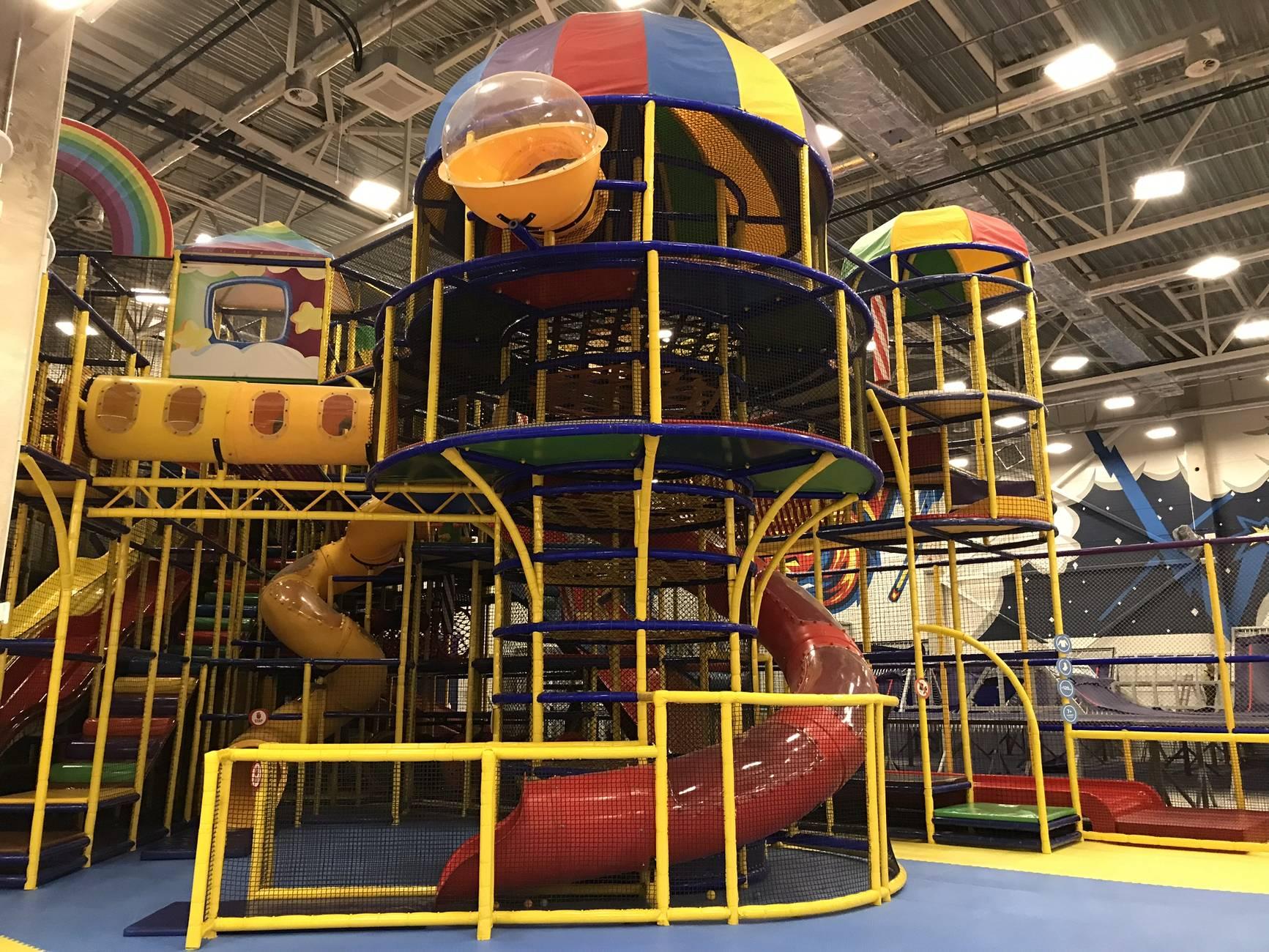 Игровой и батутный центр «Super Skypark»