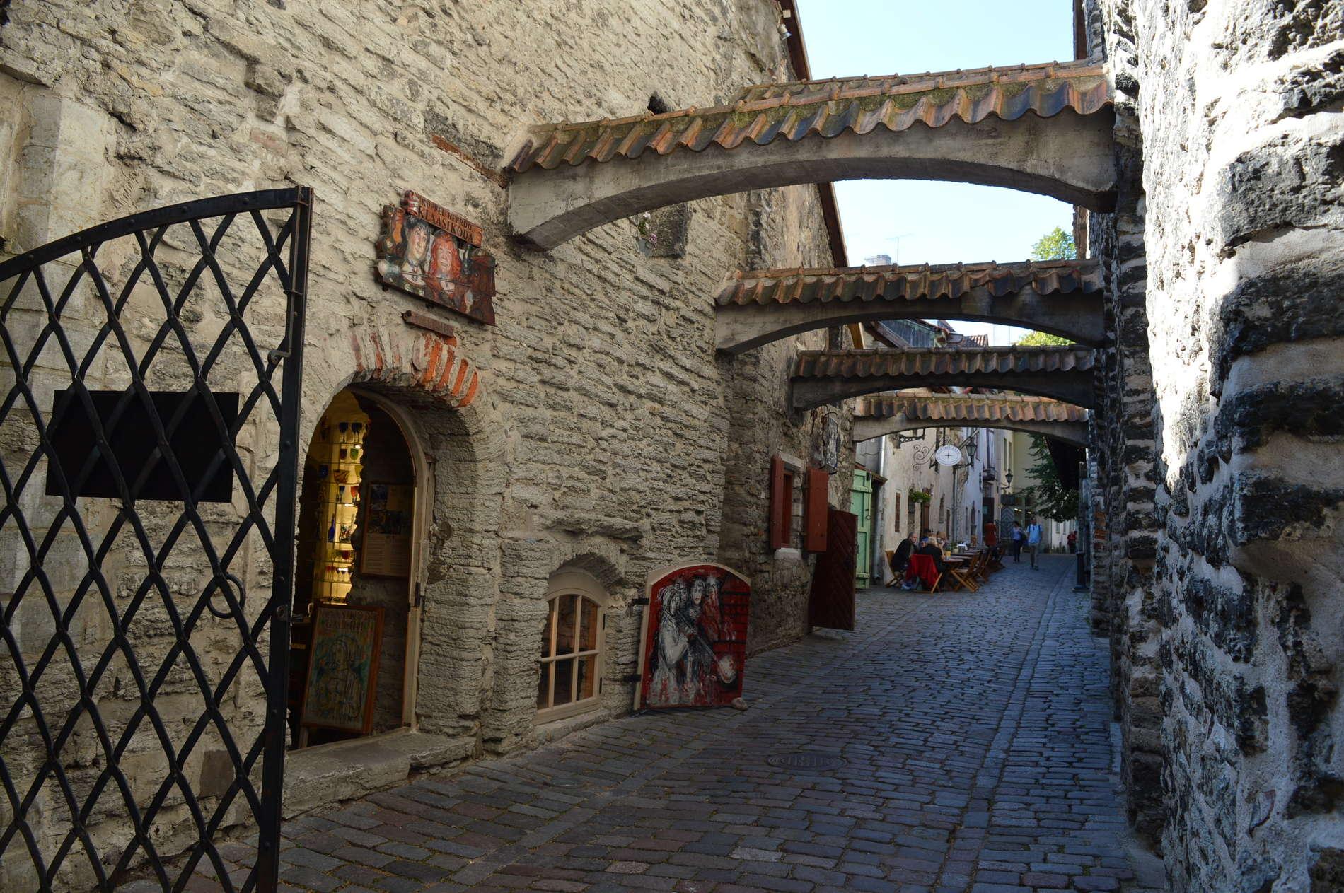 St. Catherine's Passage (Katariina Käik) in Tallinn, Estonia
