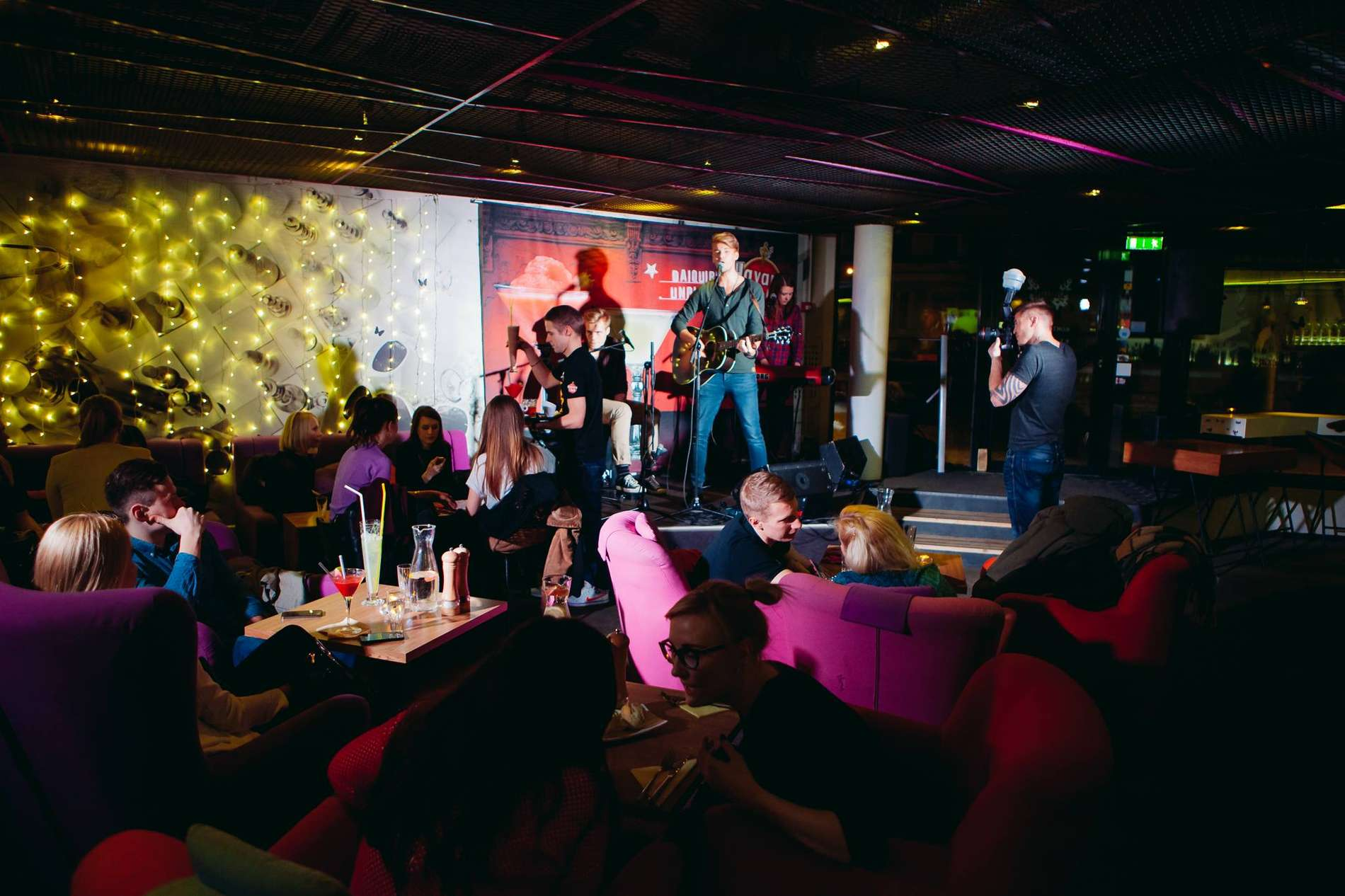 Trendy local nightspots