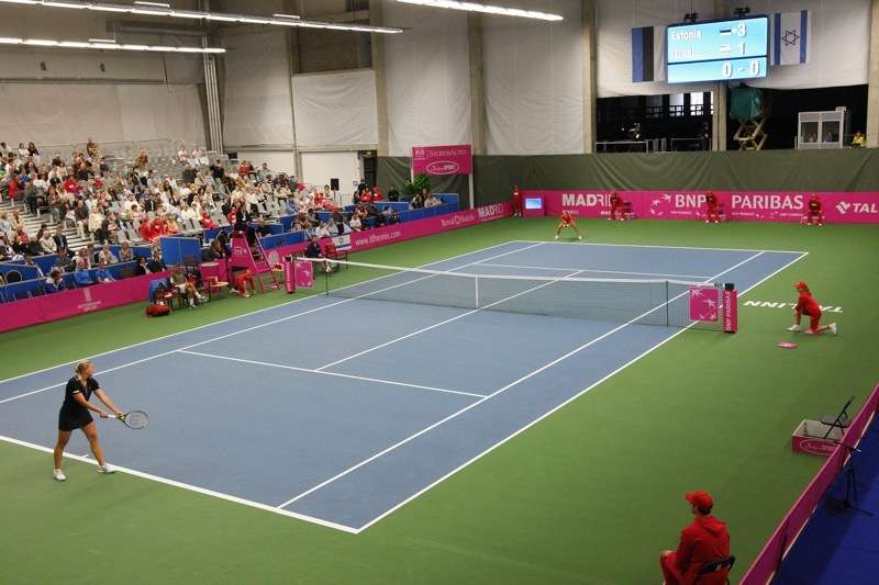 Tondi Tennis Centre in Tallinn, Estonia