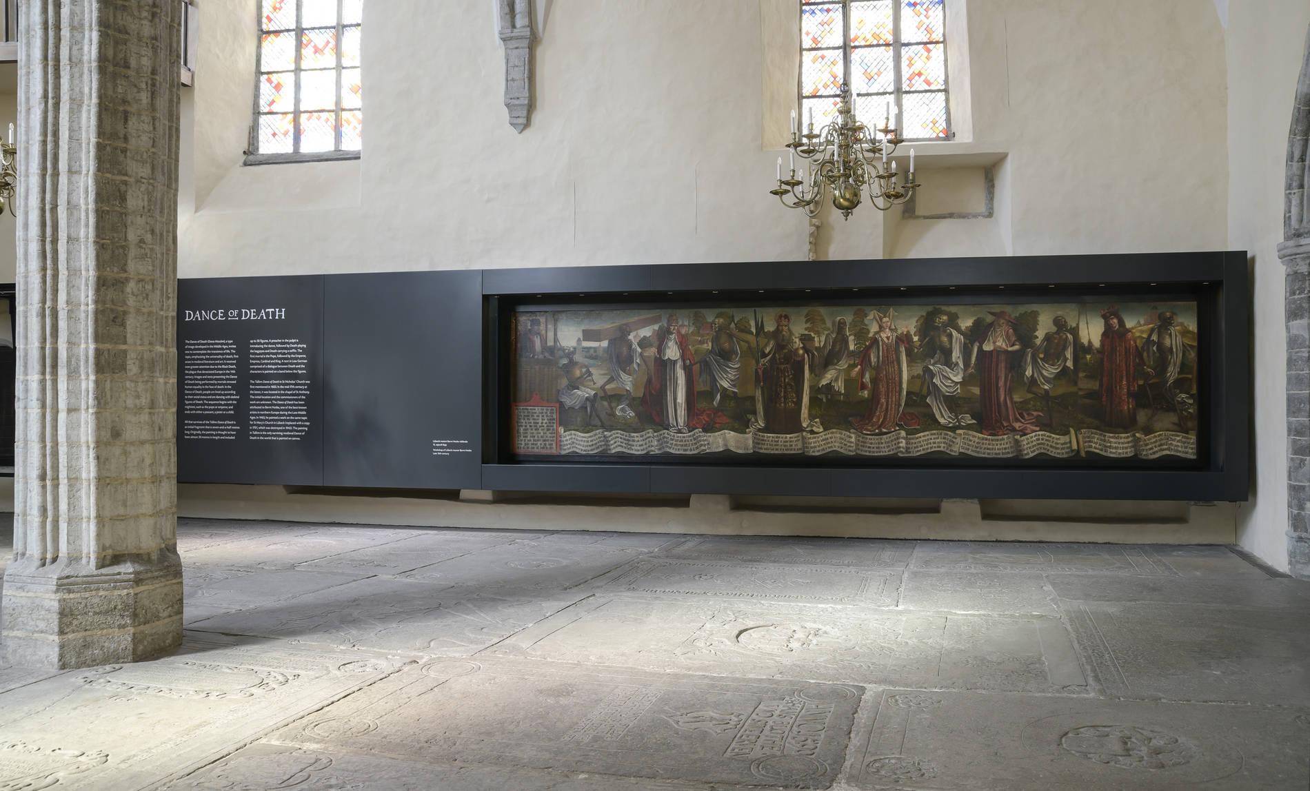 Nigulisten museo Tallinnassa Virossa