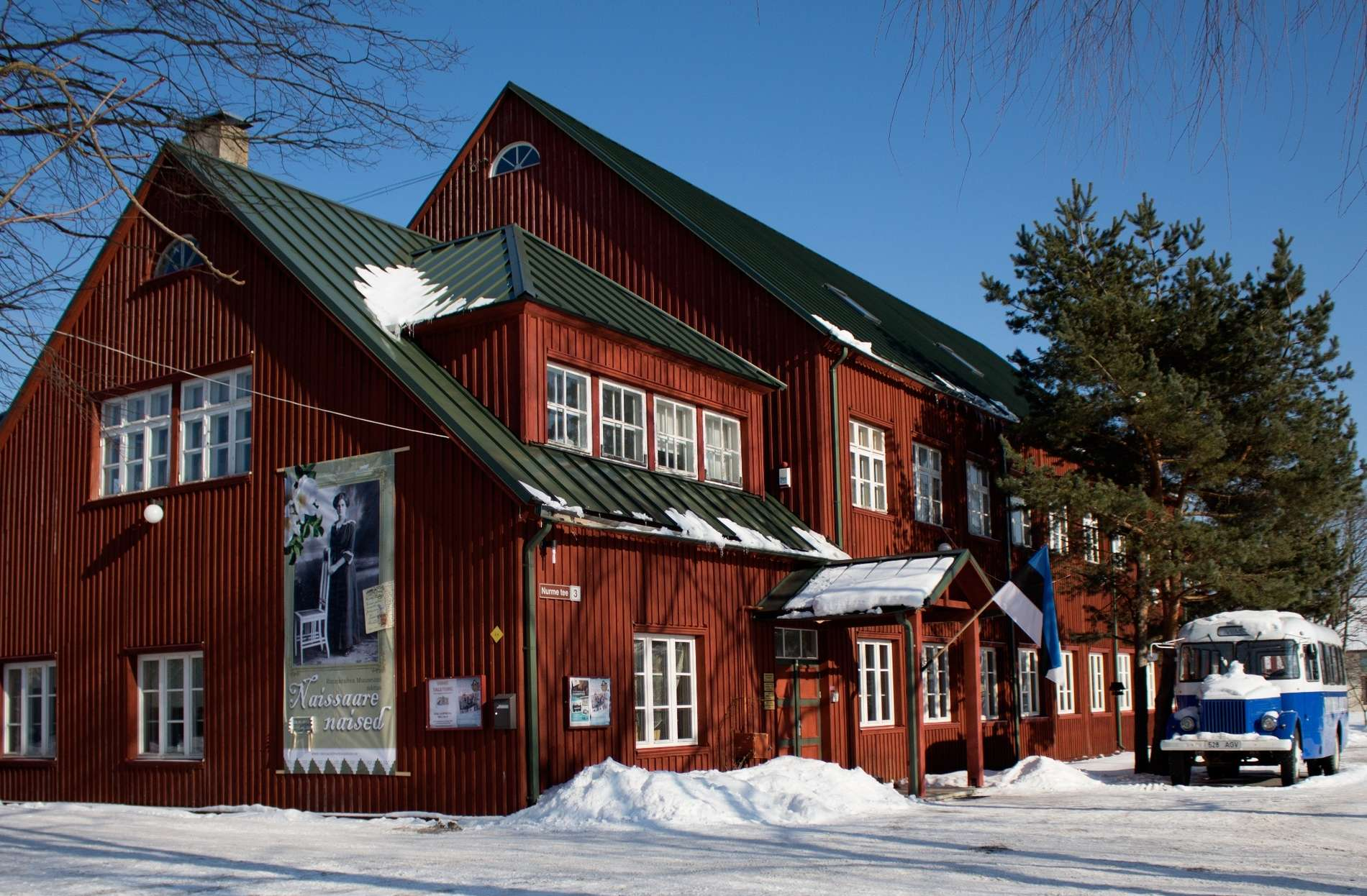 External view of the Museum of Coastal Folk in Viimsi, Estonia.