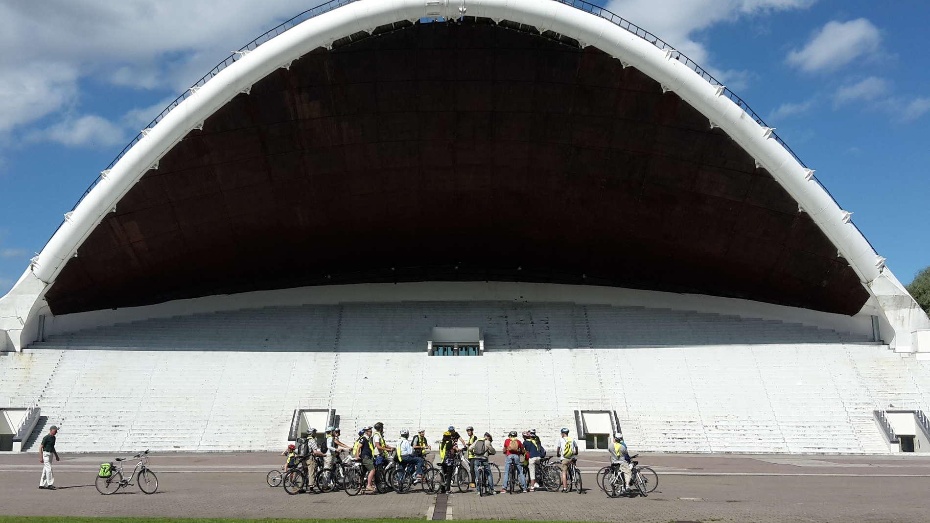 Tallinnan tutustumiskierros pyörällä