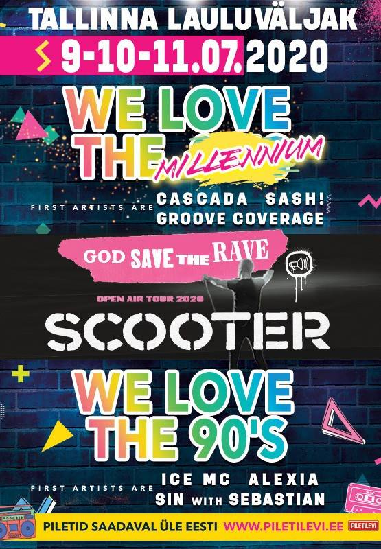 WE LOVE THE MILLENNIUM / SCOOTER / 90s