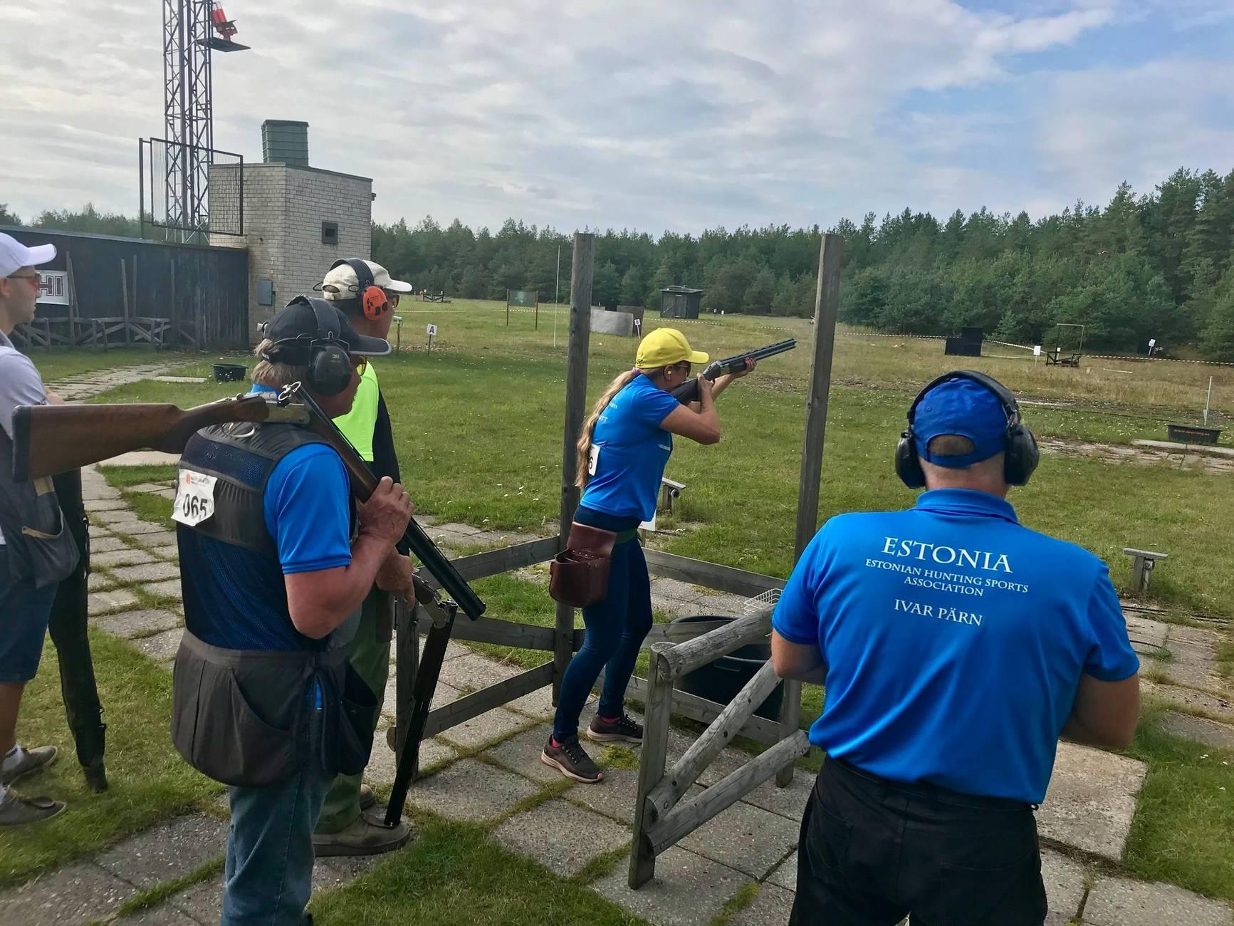 Männiku Clay Shooting Club in Tallinn,Estonia