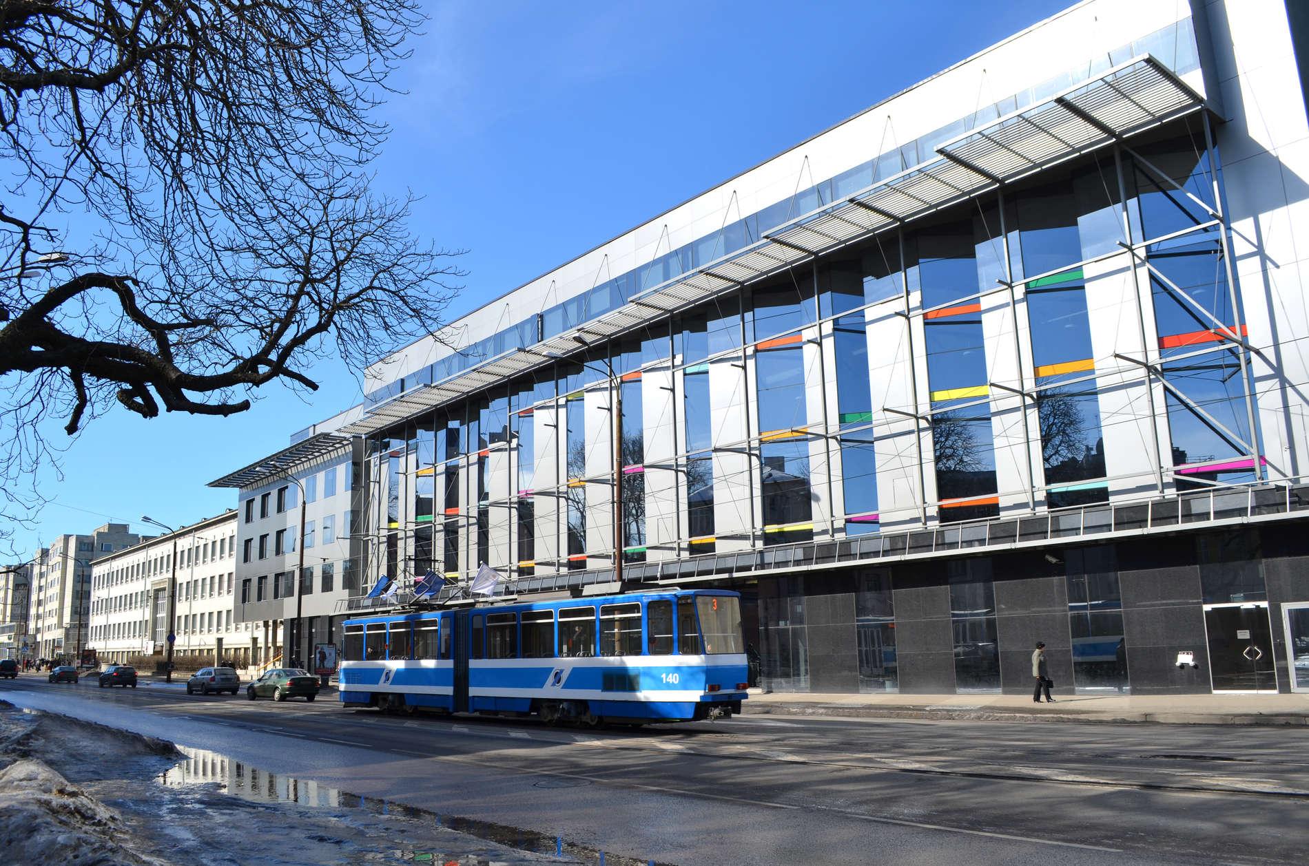 Tallinna Ülikooli Konverentsikeskus - välis