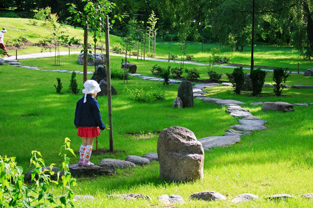 Japanese garden at Kadriorg park