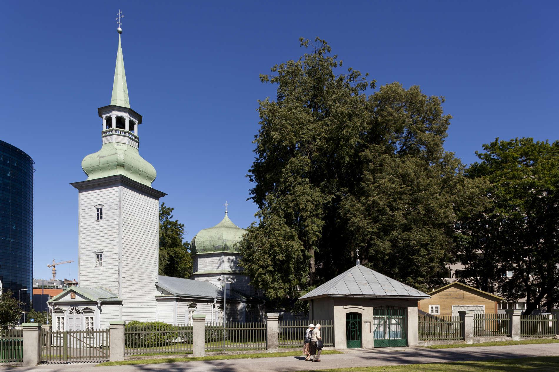 Church of Our Lady of Kazan in Tallinn, Estonia