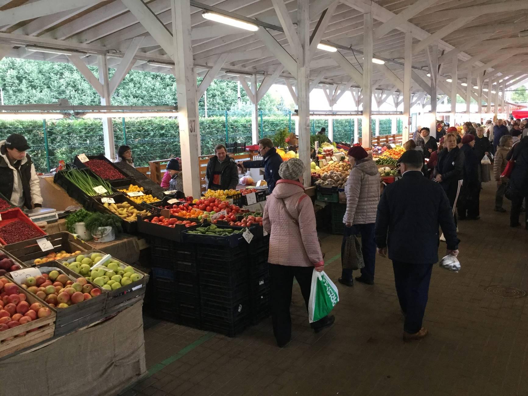 Mustamäe market in Tallinn,Estonia