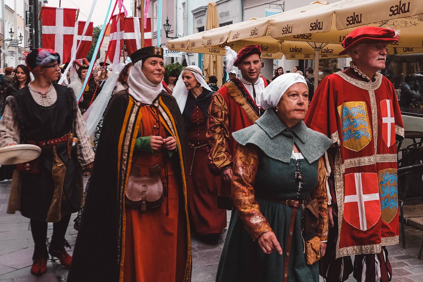 Medieval Days festival in Tallinn, Estonia