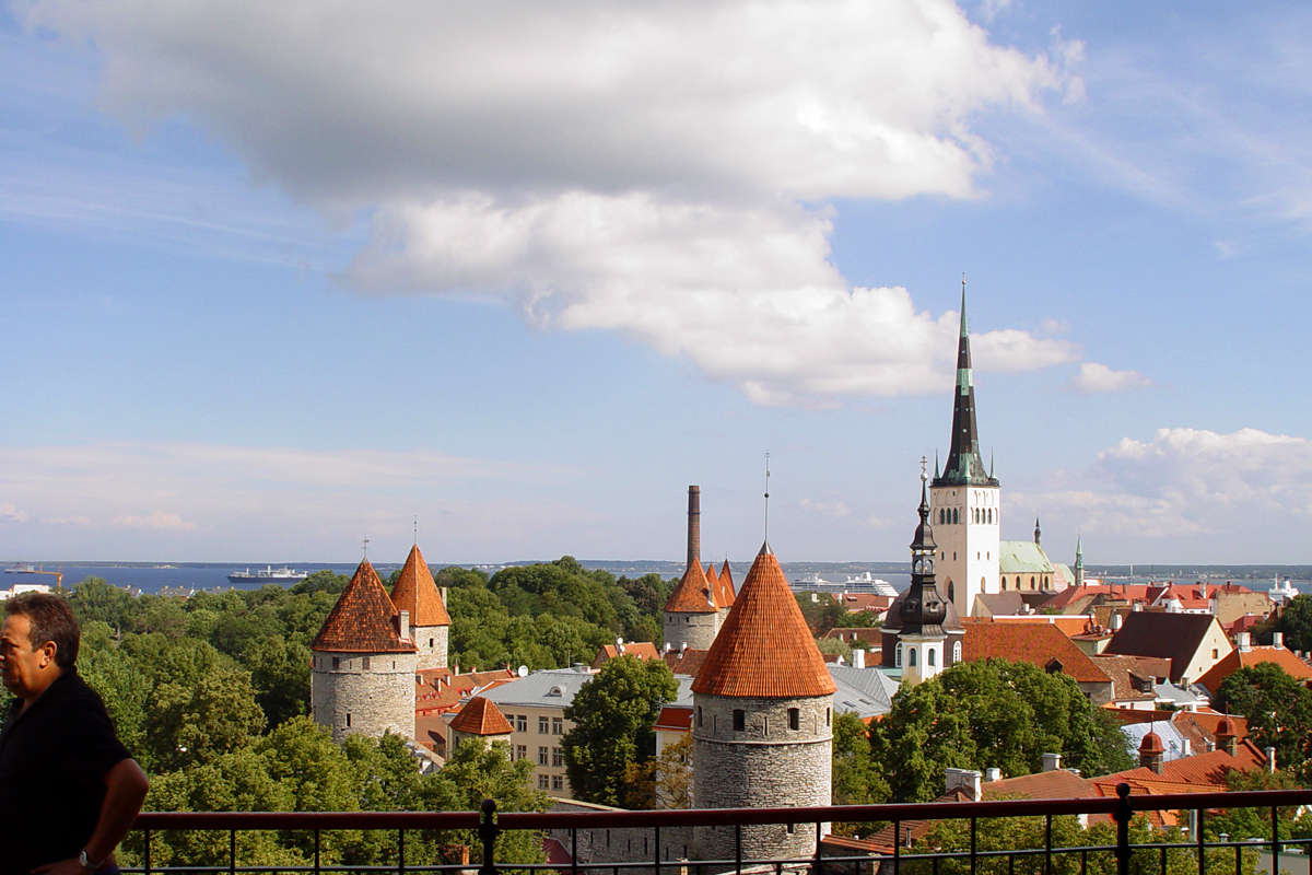 Patkuli Viewing Platform in Tallinn, Estonia