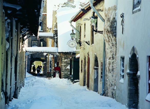 St. Catherine's Passage in winter