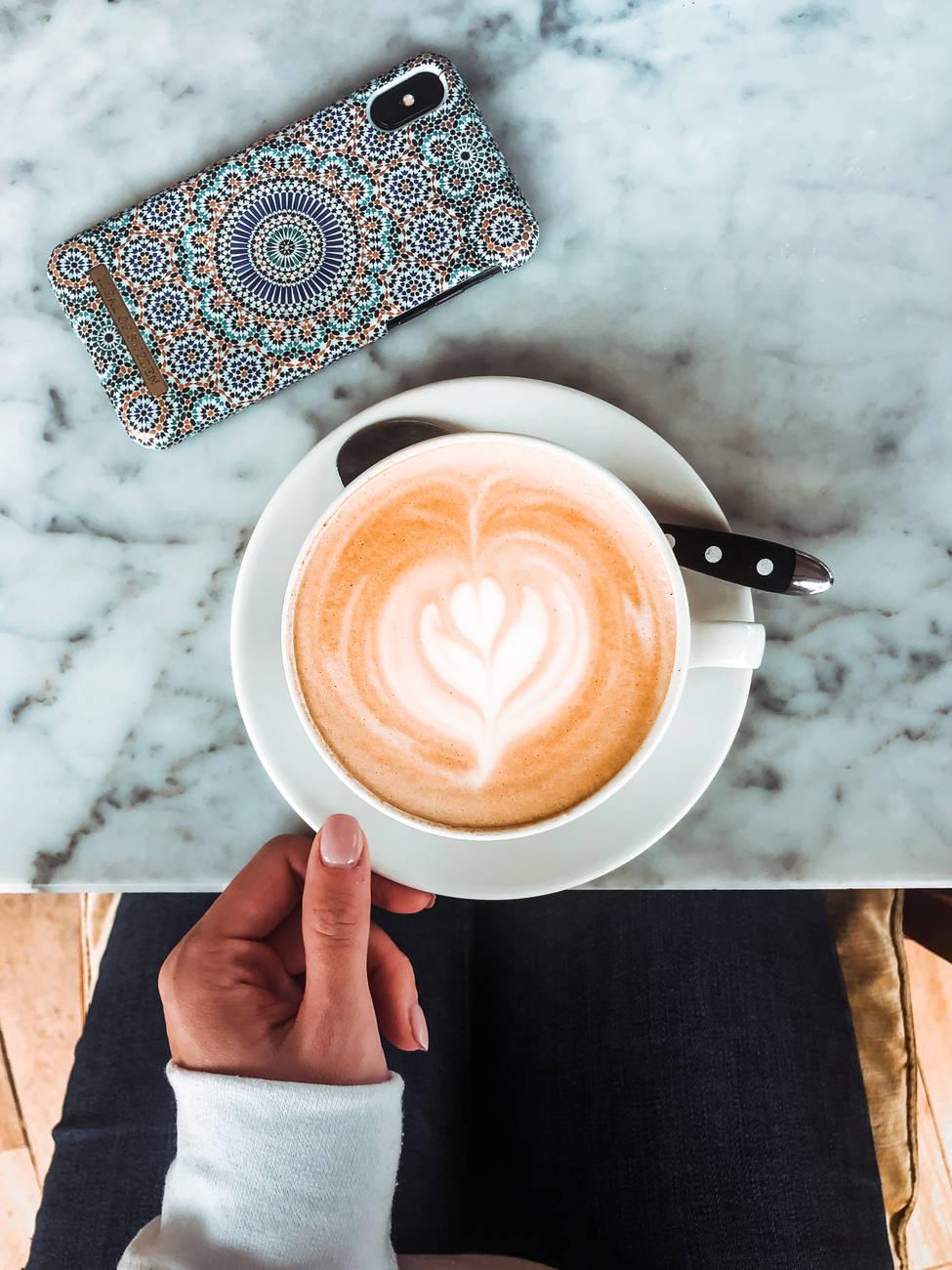 A cup of good coffee in Tallinn