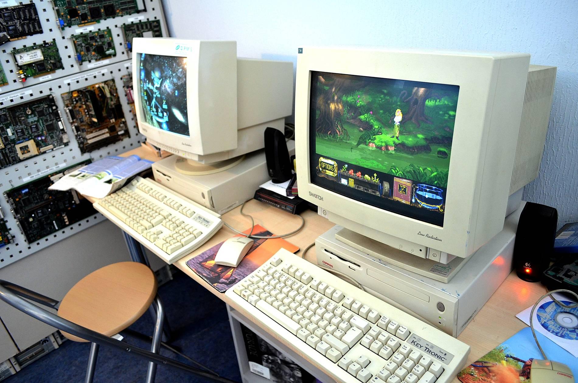 Computer Museum in Tallinn, Estonia