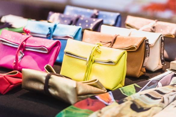 Estonian design clutchbags in Tallinn, Estonia
