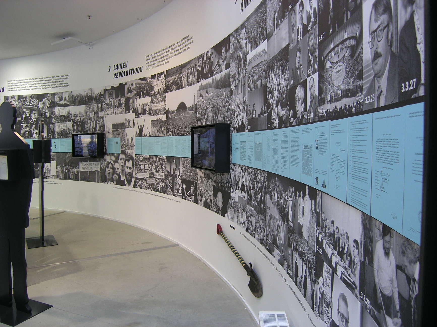 Kansanrintaman museo Tallinnassa Virossa