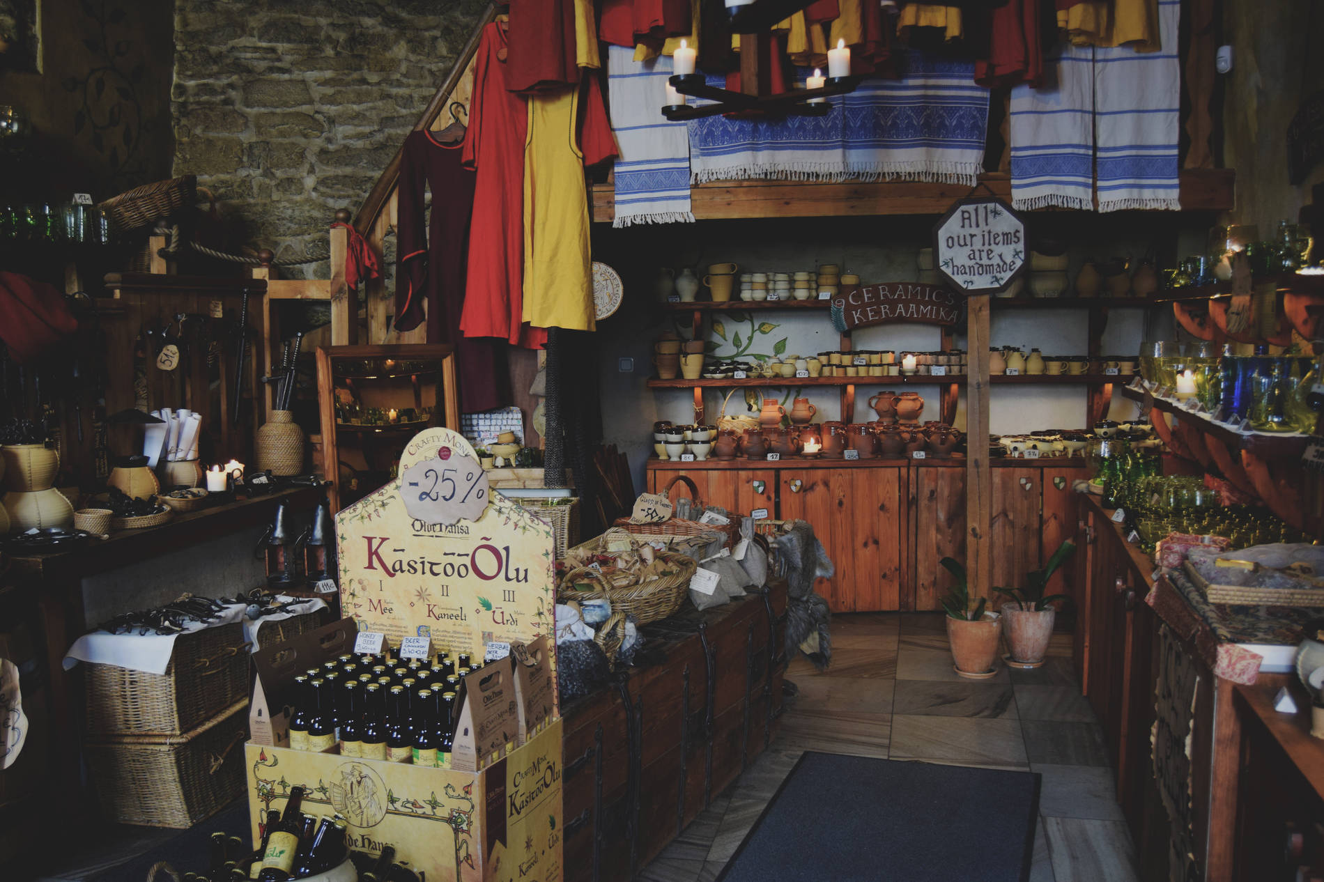 Shoppe by Olde Hansa in Tallinn,Estonia