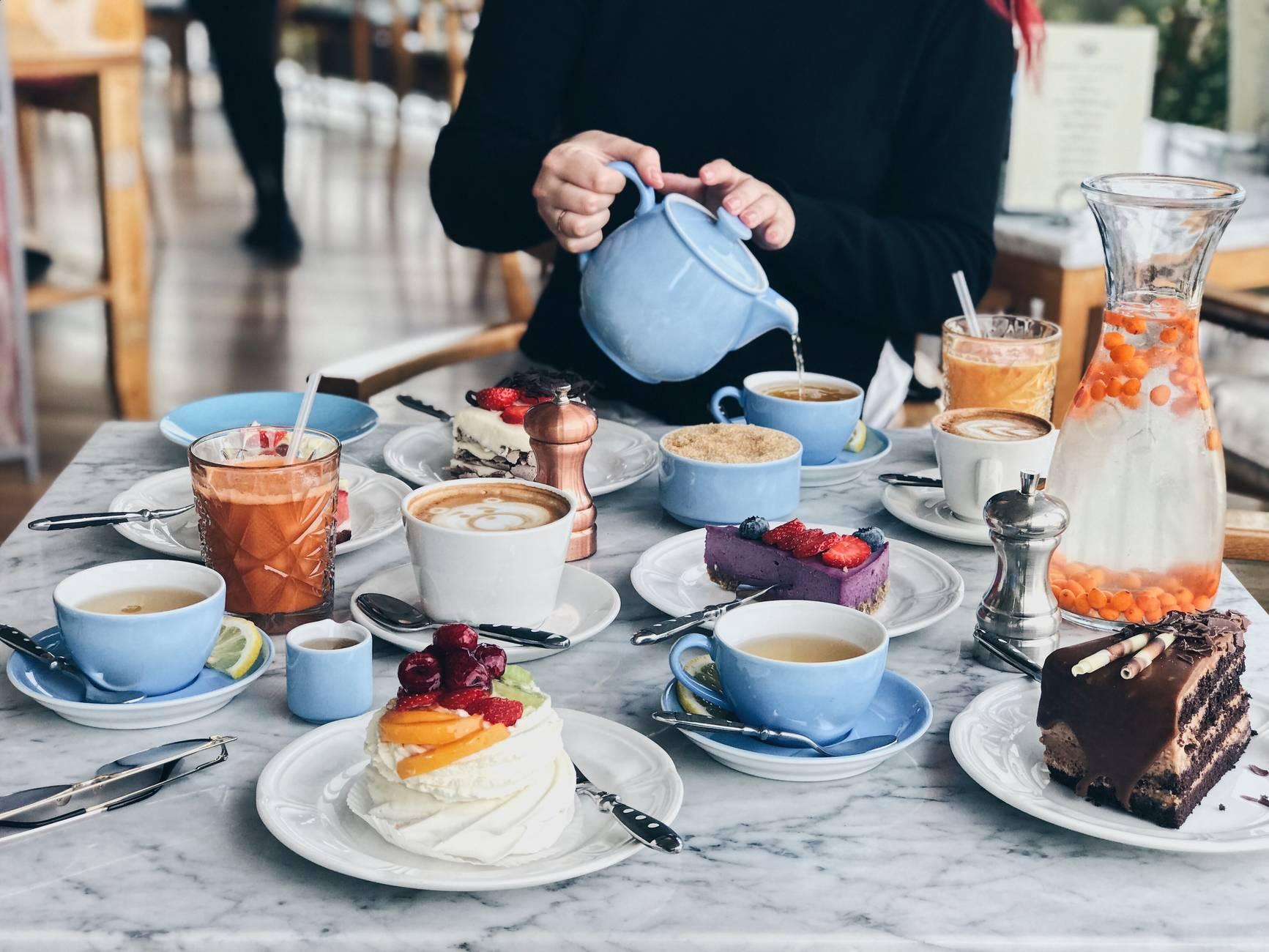 Café Komeet in Stadtzentrum Tallinn, Estland