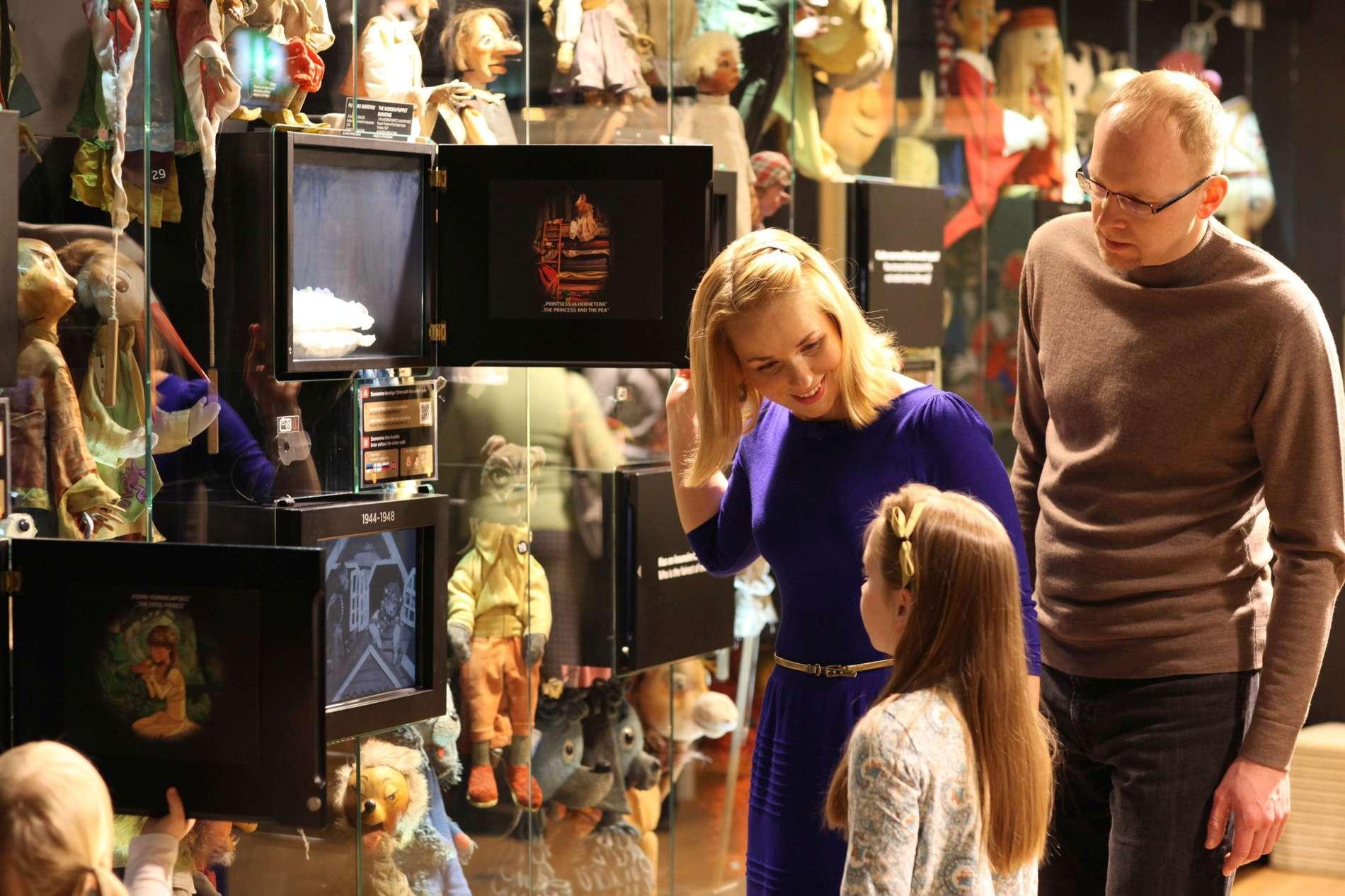 NUKU Museum of Puppet Arts in Tallinn, Estonia