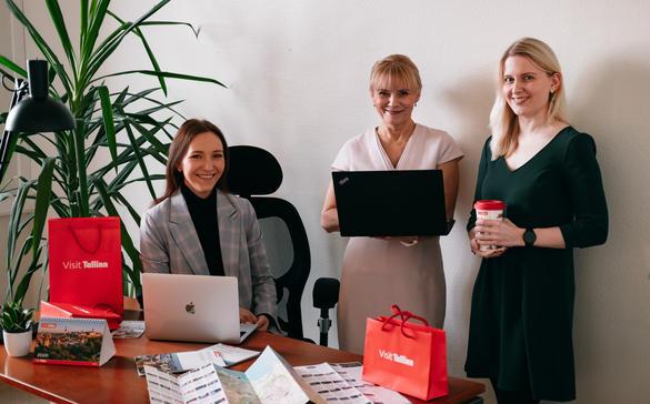 Tallinna konverentsibüroo töötajad tähistavad 20 aastat büroo tegevust, Tallinn, Eesti
