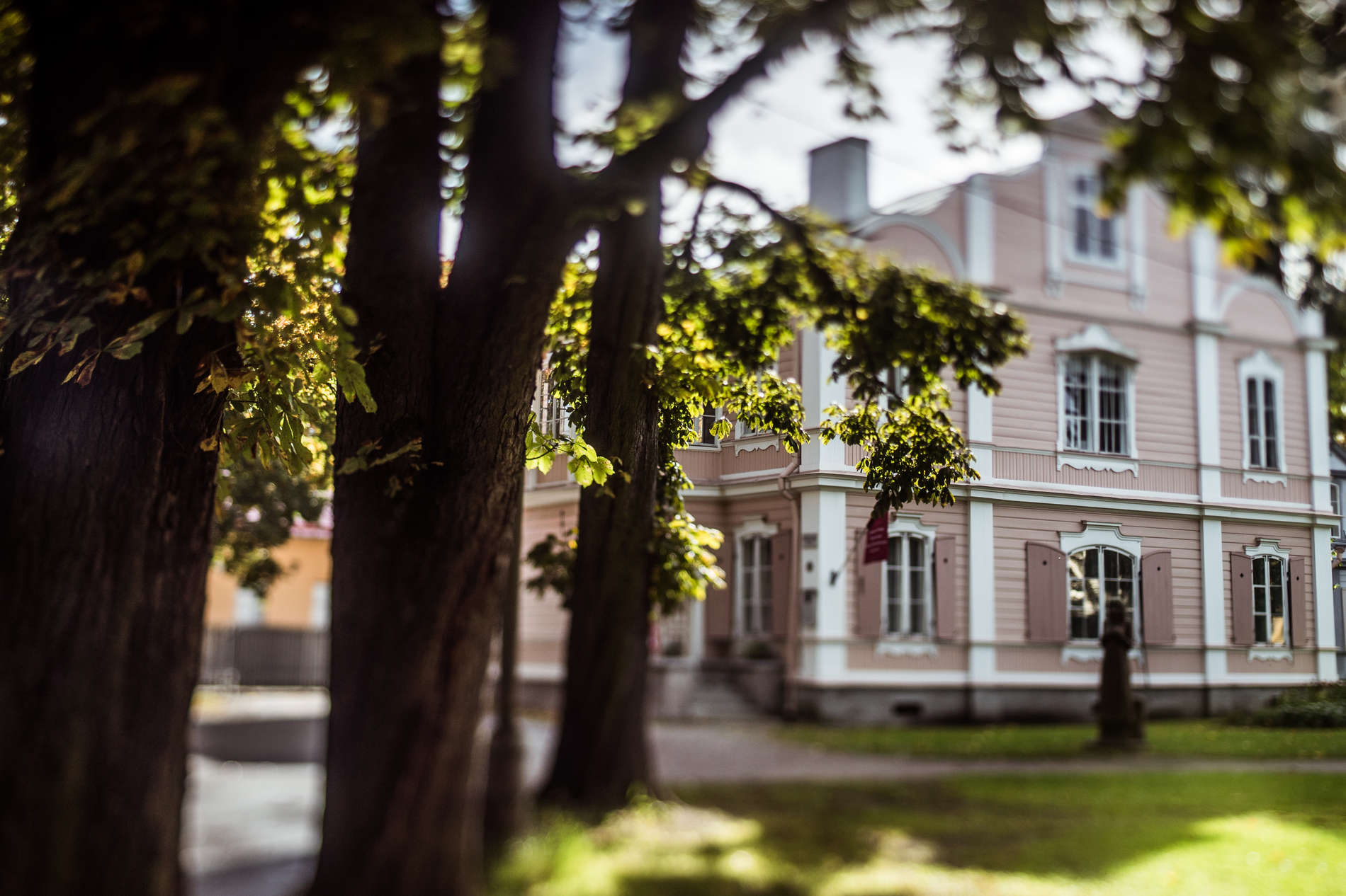 External view of the Vilde´s House Museum in Tallinn, Estonia.