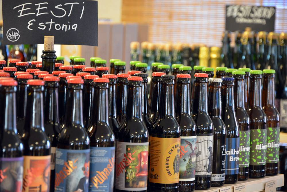 Craft beer from the SIP wine and beer shop