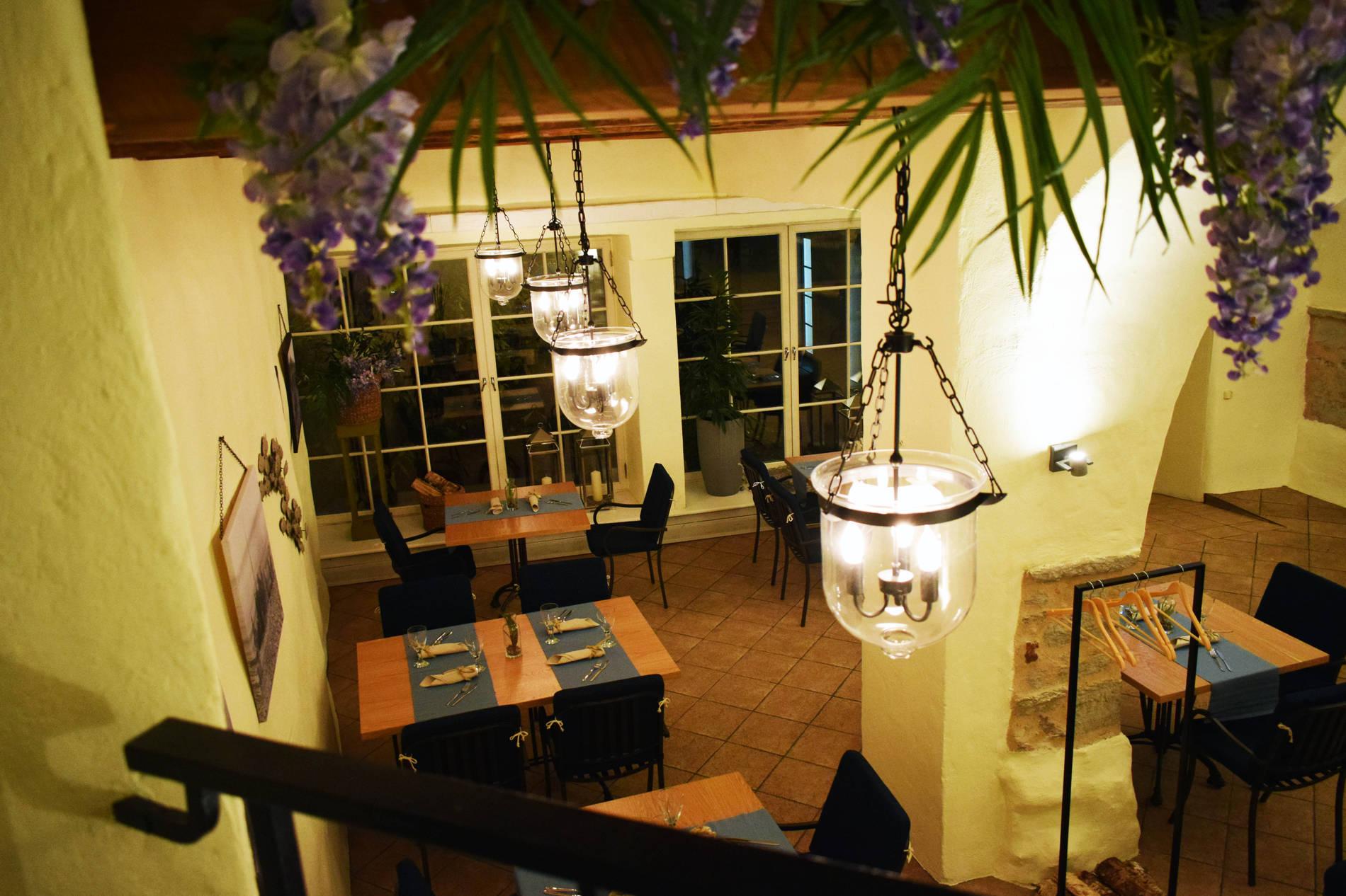 Odessa restaurant, interior