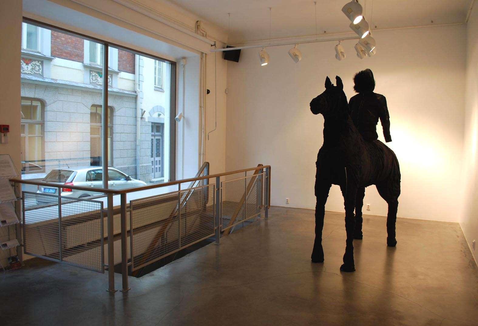 Hobusepea galleria Tallinnassa