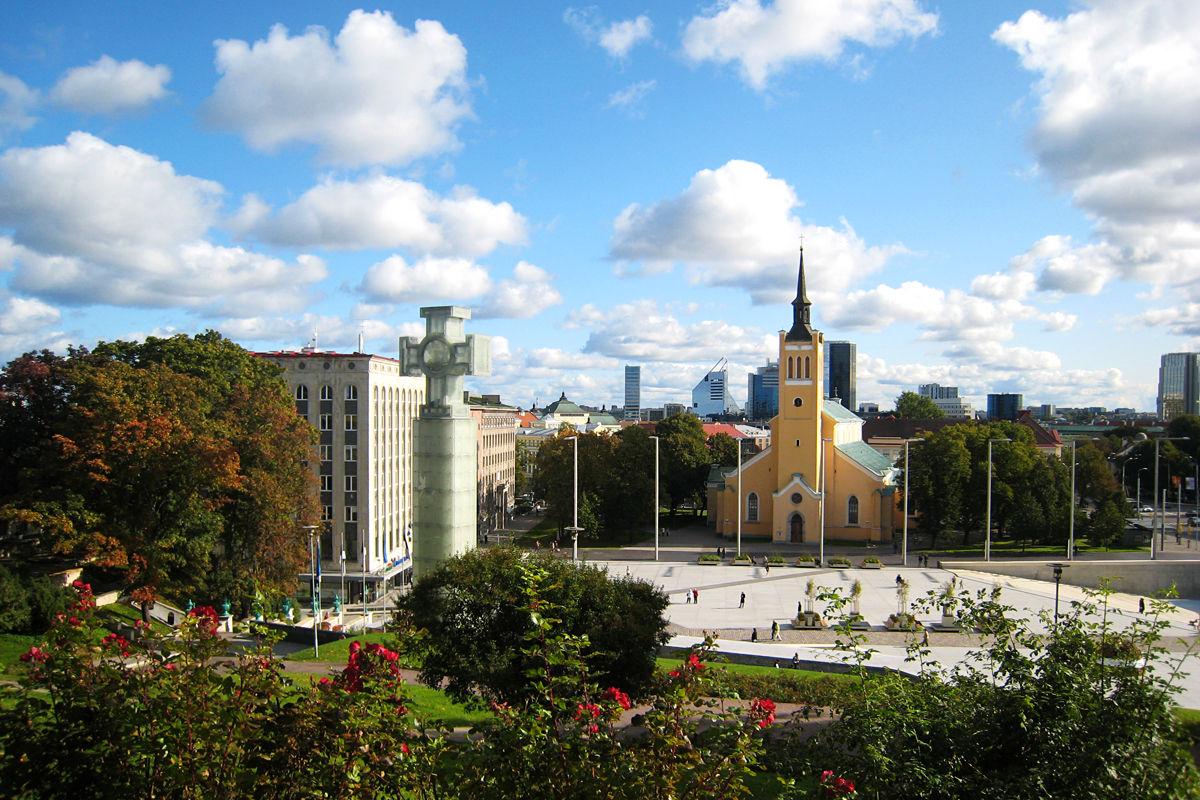 Vabaduse väljak ( Der Freiheitsplatz)