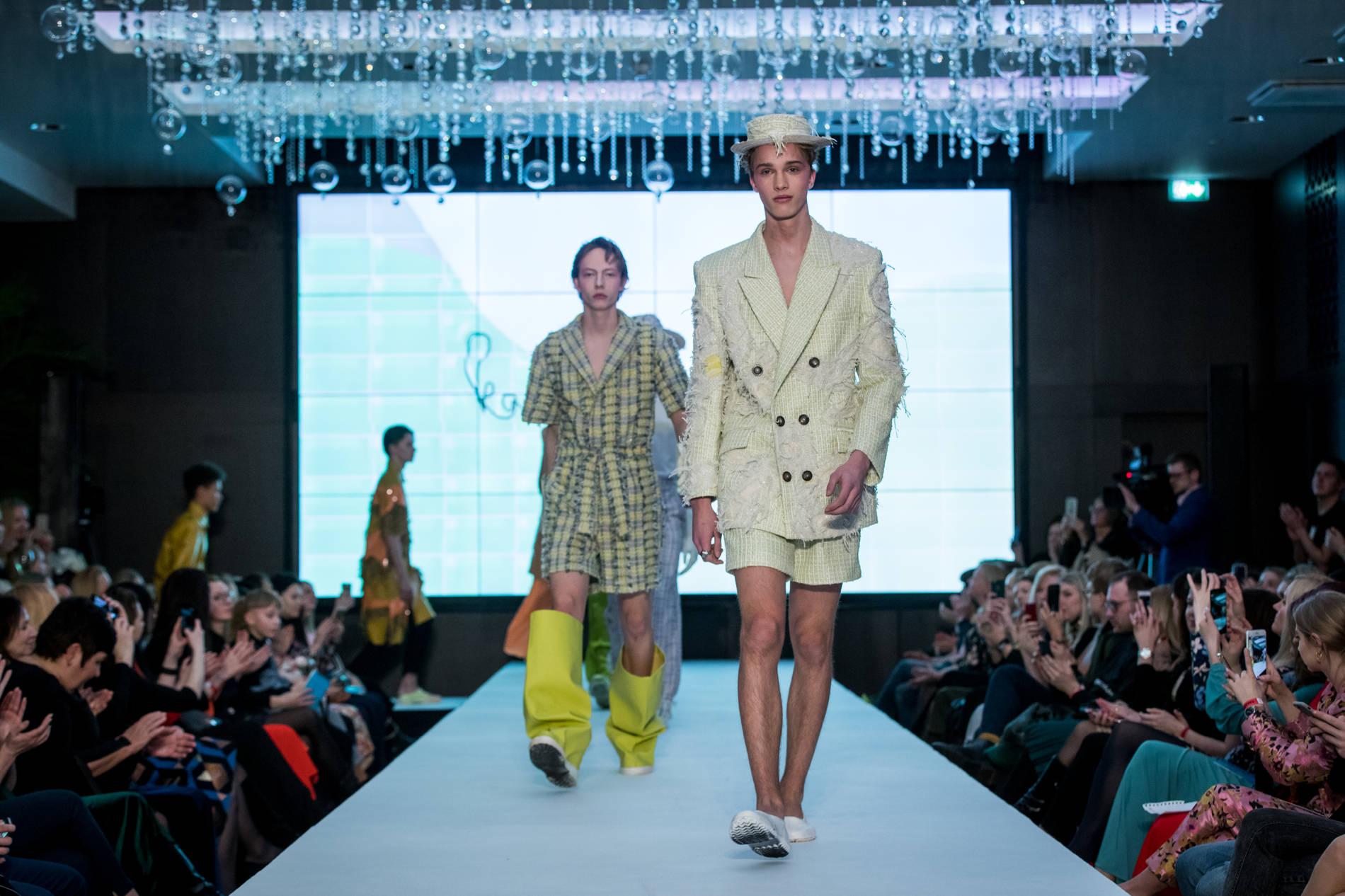 Catwalk at the Tallinn Fashion Week