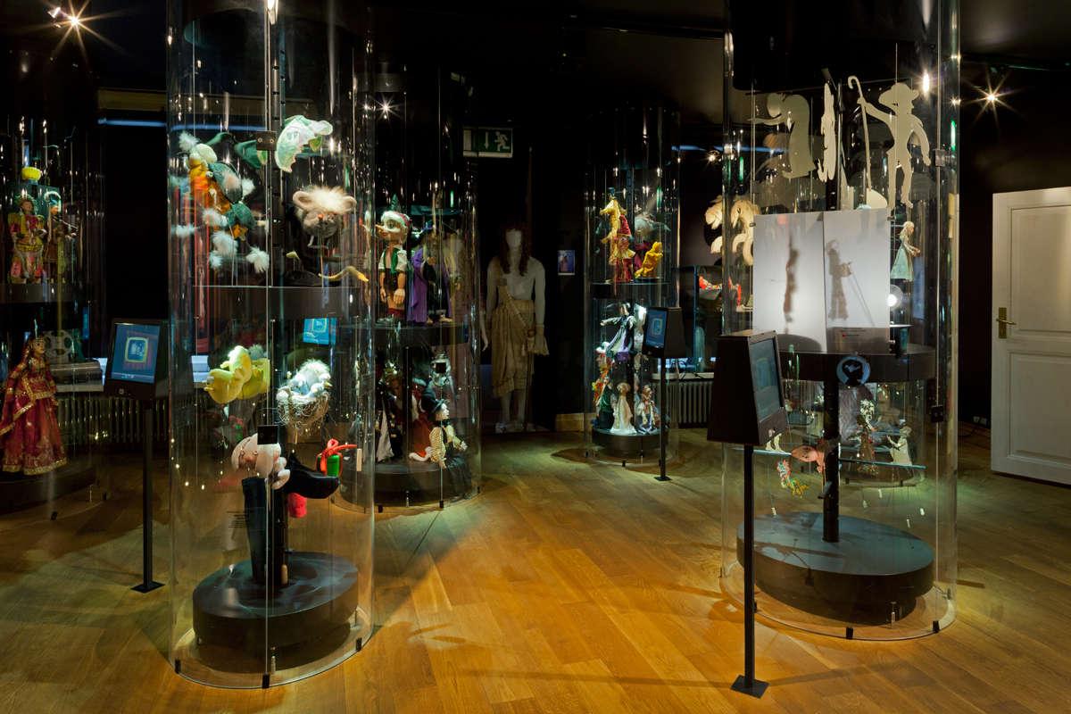 Nukketeatterimuseo NUKU Tallinnassa Virossa