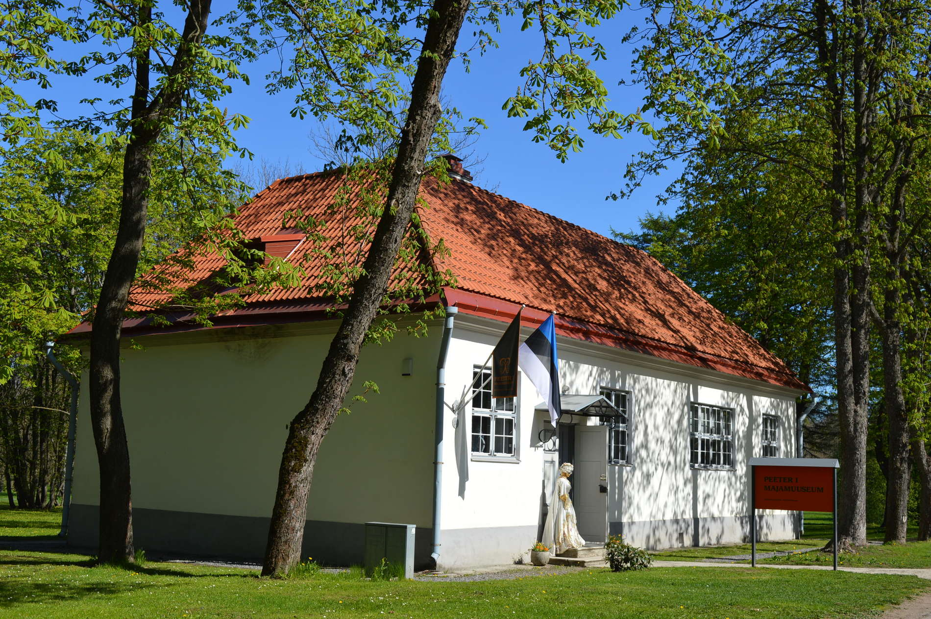 External view of the Peter the Great House Museum in Tallinn, Estonia