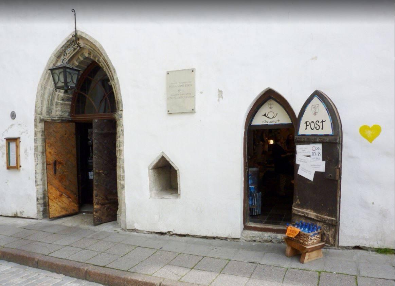 Pühavaimu Post in Tallinn,Estonia