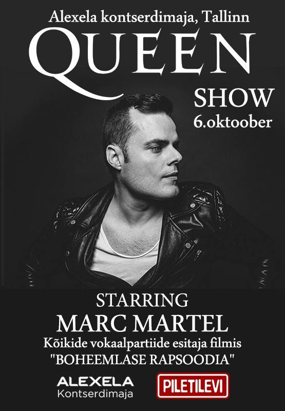 Marc Martel.  Queen Show