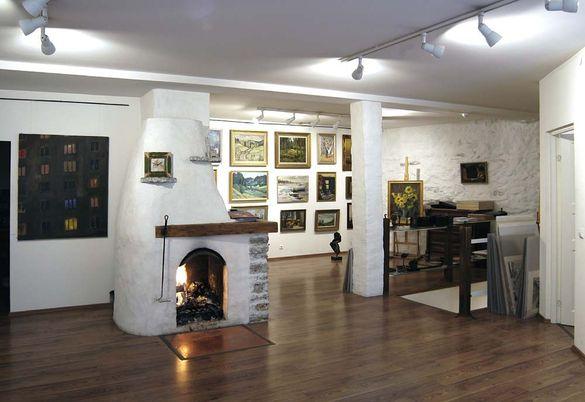 Takka Haus galleriassa Tallinnassa Virossa.