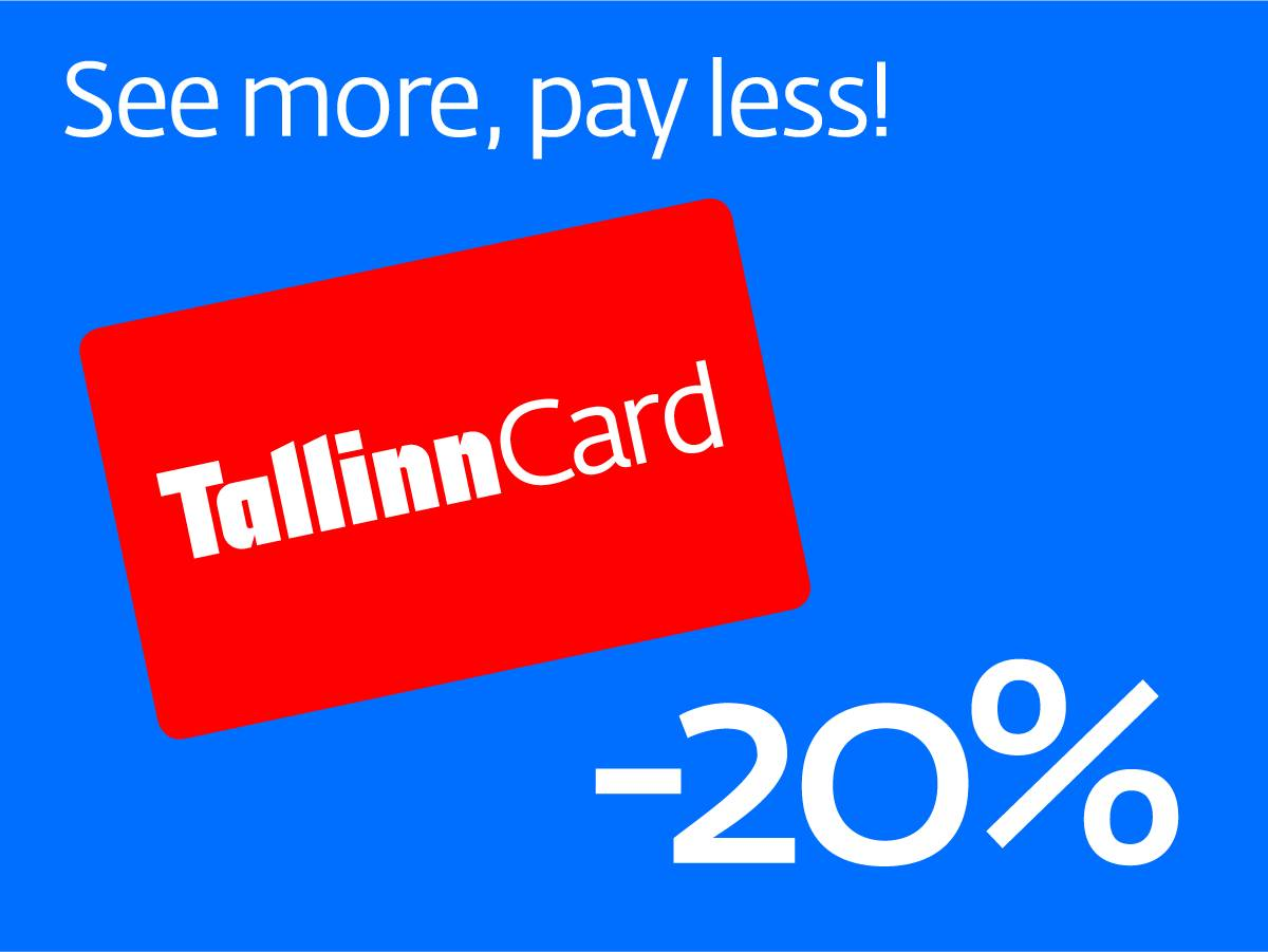 Tallinn Card 20% discount in June 2020